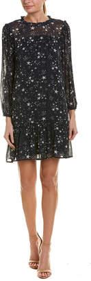 Velvet by Graham & Spencer Taya Printed Chiffon Shift Dress