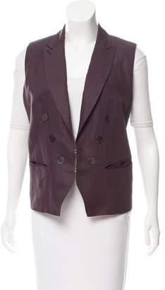 Isabel Marant Peak-Lapel Lightweight Vest