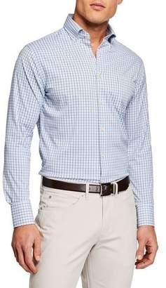 a5eb05dcfb8 Peter Millar Men s Long Sleeve Performance Woven Shirt