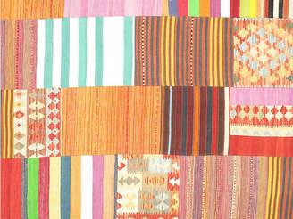 One Kings Lane Vintage Patchwork Rug - 6'6 x 9'10