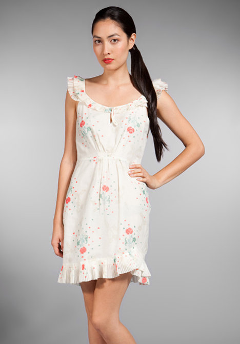 Juicy Couture Cherry Blossom Asymmetrical Dress