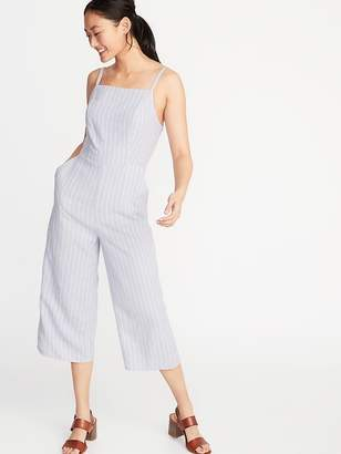 9658db7b87 Old Navy Striped Linen-Blend Cami Jumpsuit for Women