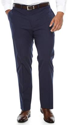 Van Heusen Grid Slim Fit Stretch Suit Pants - Big and Tall
