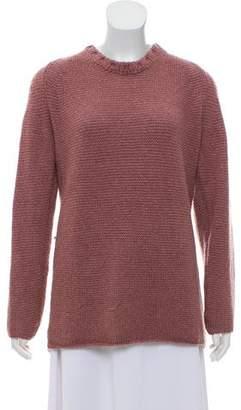 Burberry Wool-Blend Long Sleeve Sweater
