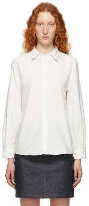 A.P.C. White Mireille Oxford Shirt