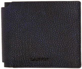 Lanvin Navy and Black Wallet