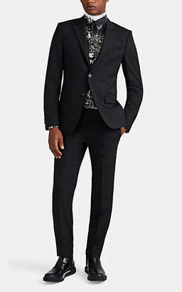 Givenchy Men's Worsted Wool Two-Button Suit - Black