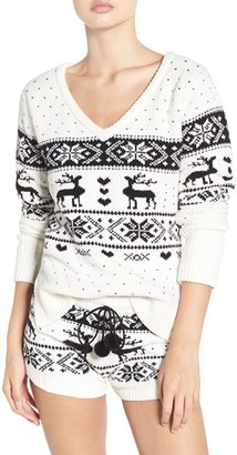 Betsey Johnson Plush Sweater $48 thestylecure.com