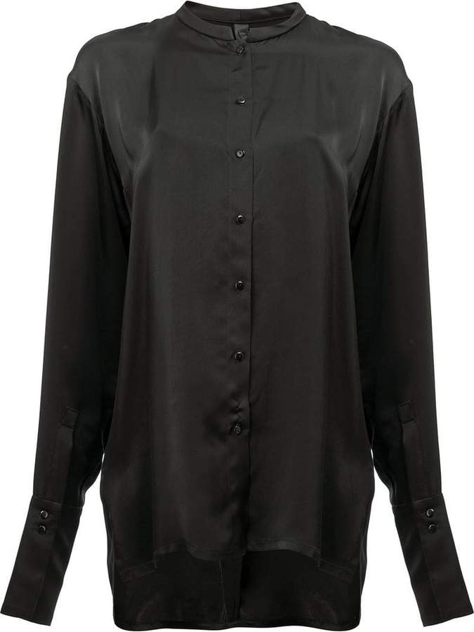 Ilaria Nistri collarless shirt