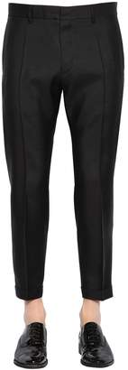 DSQUARED2 17.5cm Admiral Virgin Wool & Silk Pants