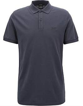 HUGO BOSS Regular-Fit Polo Shirt In Fine Pique