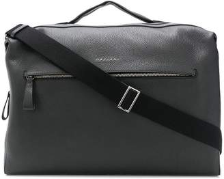 Orciani leather travel holdall