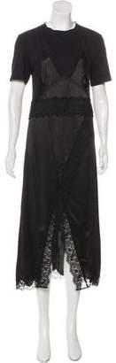 Burberry Layered Maxi Dress