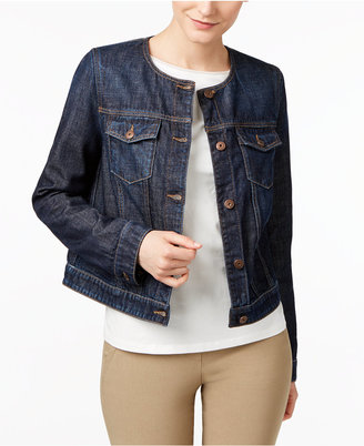 Weekend Max Mara Tom Cotton Denim Jacket $350 thestylecure.com