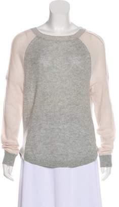 Rebecca Taylor Cashmere Colorblock Sweater