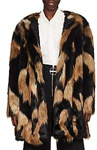 Givenchy Women's Faux-Fur Coat - Brown