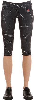 Crossfit Cropped Microfiber Leggings $84 thestylecure.com
