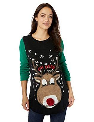 Oh Deer Ugly Christmas Sweater Company Women's Maternity Xmas Sweater