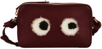 Anya Hindmarch Mini Shearling Eyes Cross Body Bag