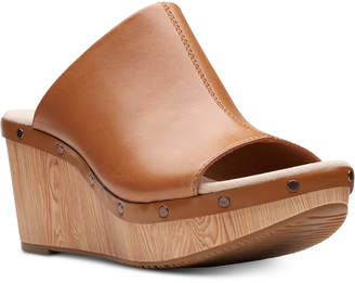 Clarks Women's Annadel Molly Wedge Sandals Women's Shoes