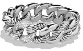 David Yurman Belmont Link Bracelet with Diamonds