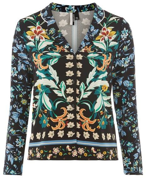 TopshopTopshop Tigerlilly print pyjama shirt