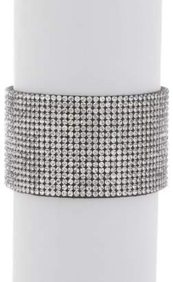 Free Press Magnetic Crystal Cuff Bracelet