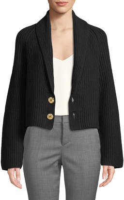 Zadig & Voltaire Tory Wool-Blend Double-Button Sweater