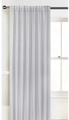 Accessorize Silver Ana Tab Top Curtain