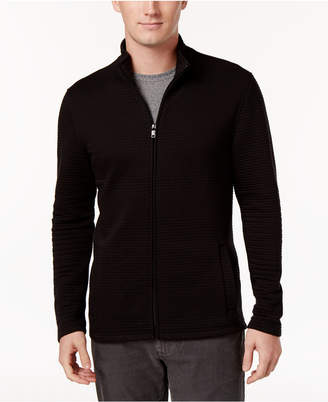 Alfani Men's Textured Zip-Front Jacket