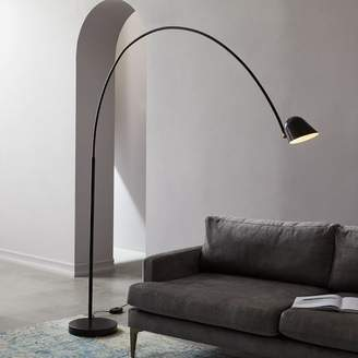 west elm LED Overarching Boom Arm Floor Lamp