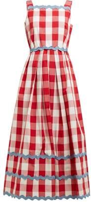 Max Mara Diadema Dress - Womens - Red Multi