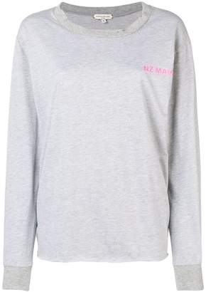 Natasha Zinko logo long sleeved T-shirt