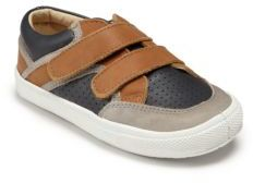 Old Soles Tri-Color Leather Sneakers $72 thestylecure.com