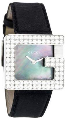 Gucci 3600 J Diamond Watch