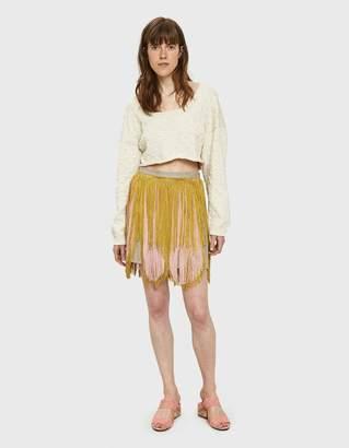Rachel Comey Coil Fringe Skirt