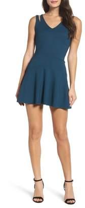 Ali & Jay Ponte V-Neck Sleeveless Dress