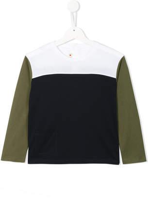 Marni colour block blouse