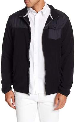 Quiksilver Fleece Knit Front Zip Jacket