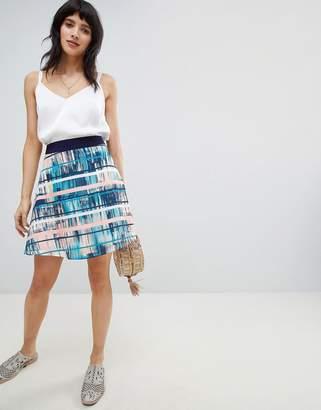 Lavand Printed Midi Skirt