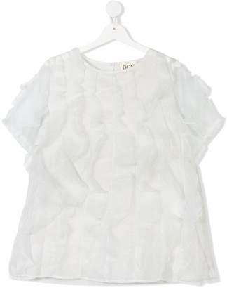 Douuod Kids TEEN ruffled blouse