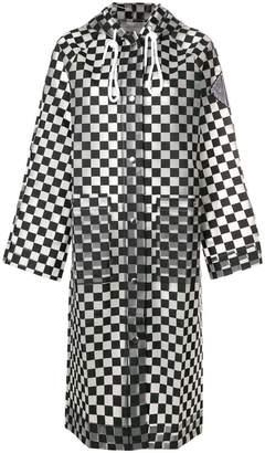 Proenza Schouler PSWL Checkerboard Raincoat