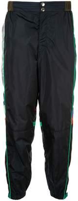 Kolor side stripes track pants