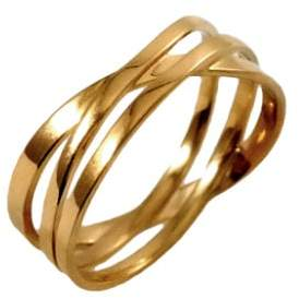 """MARIE JUNE""""¢ Jewelry - Coil Gold Ring"""