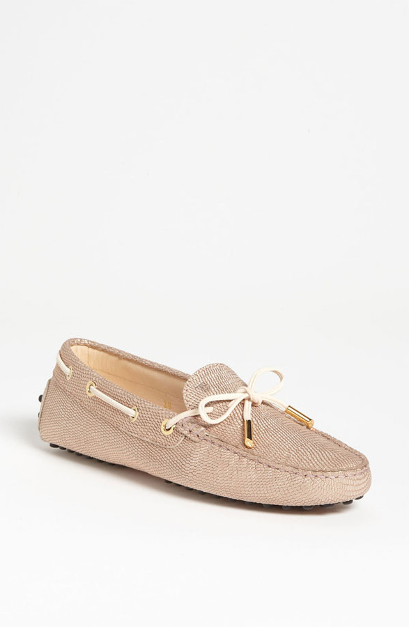 Tod's 'New Heaven Laccetto' Moccasin