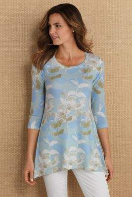 Soft Surroundings Tranquil Tunic