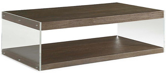 Dalton Lucite Coffee Table - Nutmeg - Brownstone Furniture