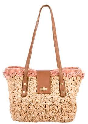 Chanel Straw Mademoiselle Bag