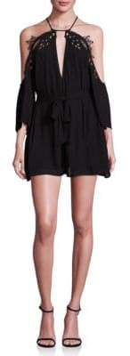 Alice McCall Fame Cold-Shoulder Romper