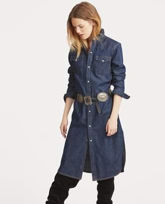 Ralph Lauren Denim Western Shirtdress